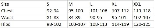 Tabela velikosti Loap - moška oblačila